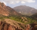Scenery of the Tajik Mountains