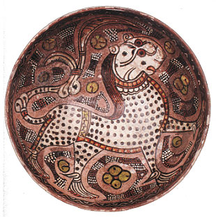 Zoomorphic images of Central Asian ceramics