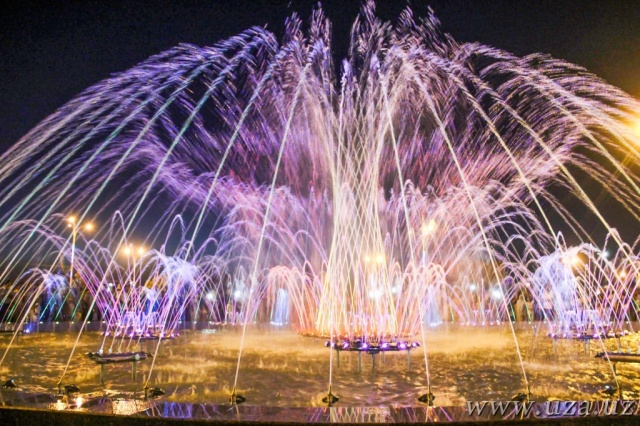 Musical Fountain appeared in Andijan