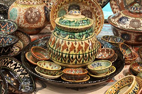 Gijduvan pottery