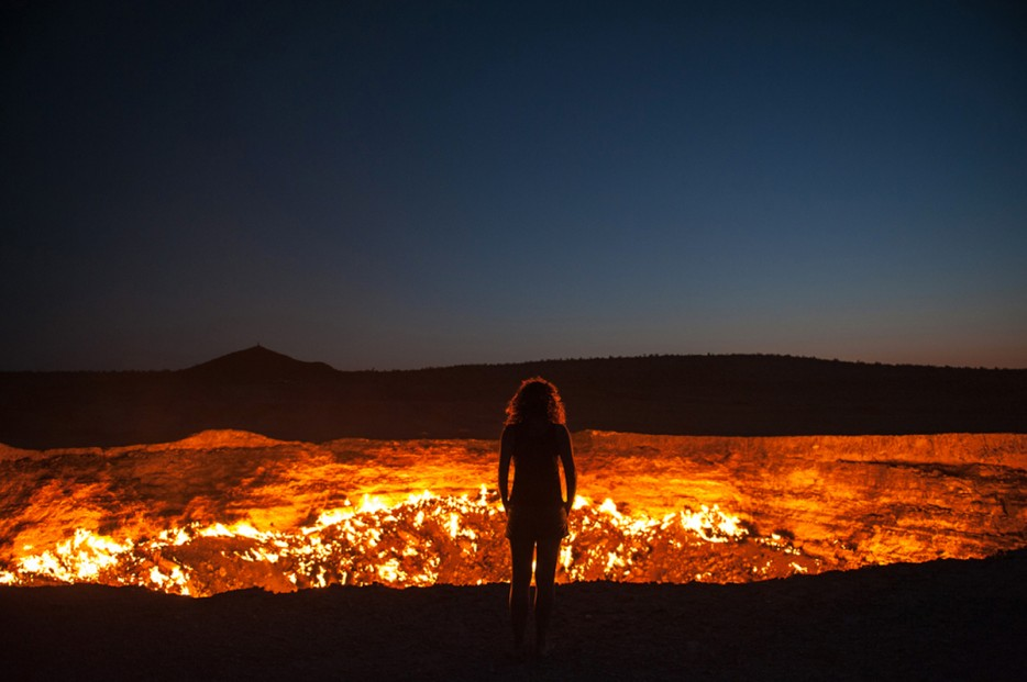 Darwaza crater