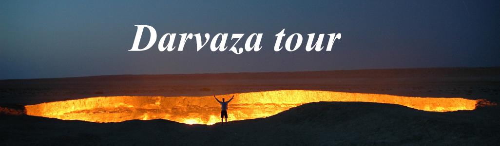 Darvaza tour