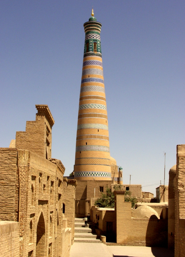 Minaret, a symbol of East