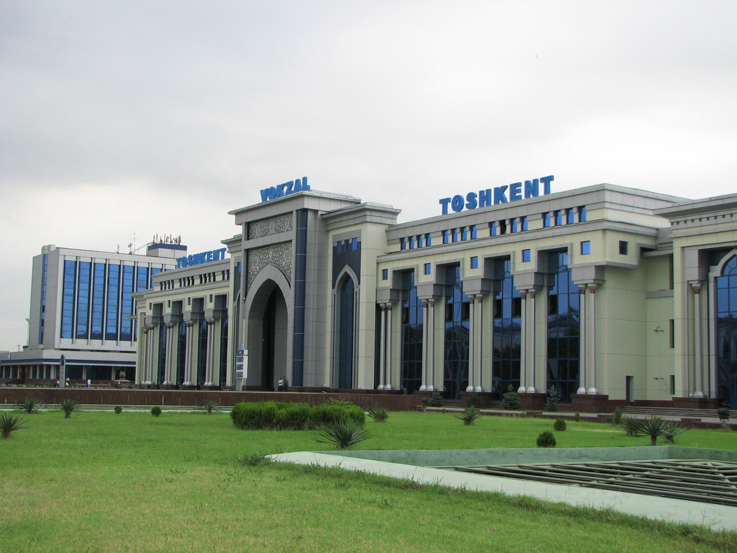 train Tashkent - Samarkand - Tashkent