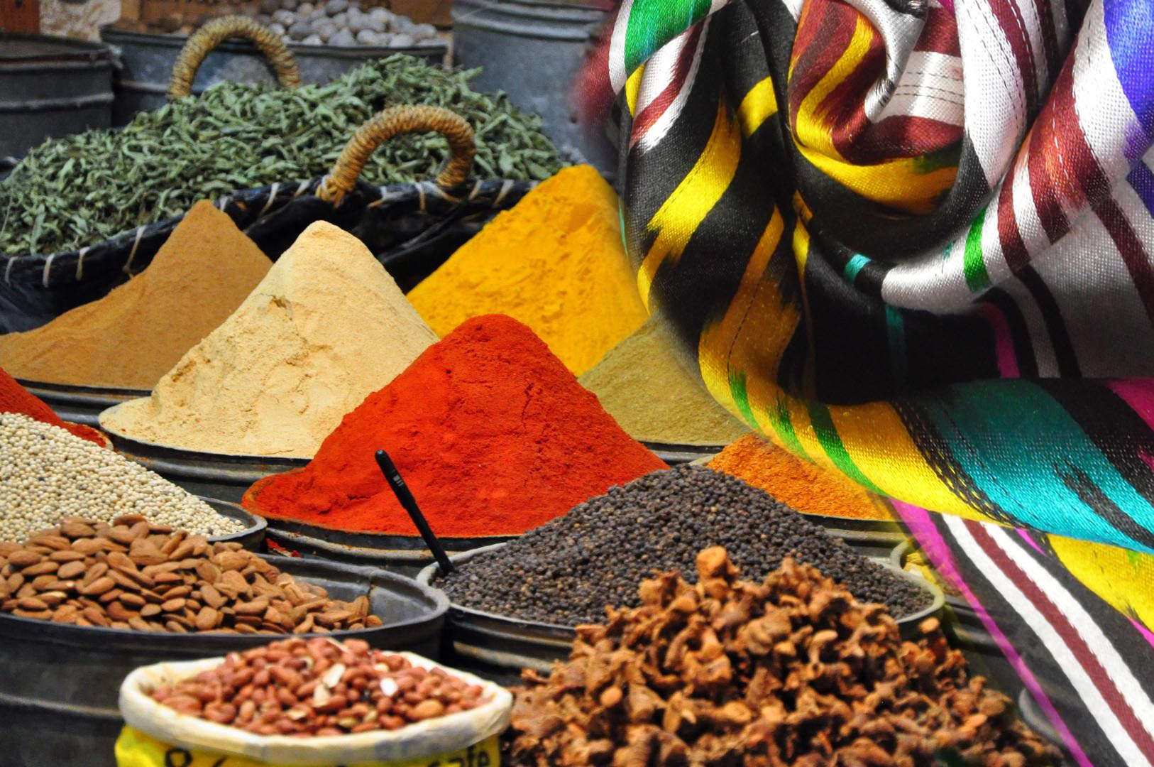 "The annual festival ""Silk and Spices"""