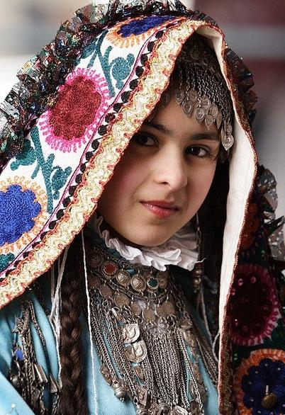 Traditional costumes of Tajikistan