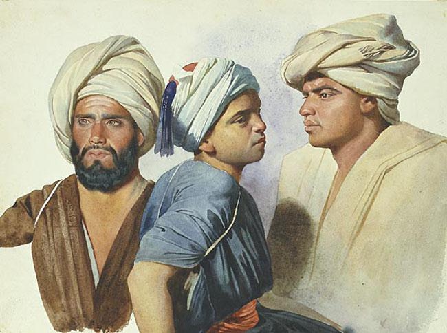 Eastern turban