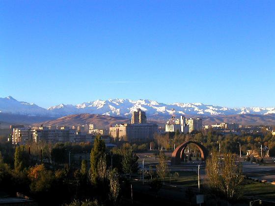 Bishkek Kyrgyzstan  city pictures gallery : Bishkek towards South Bishkek