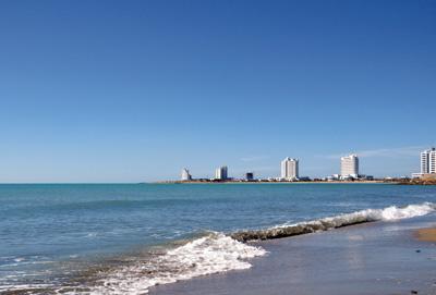 Отдых на Каспийском море, Туркмения, поездка на море