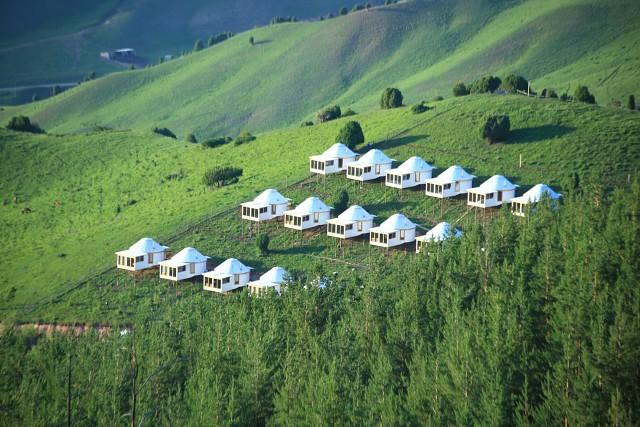 camp in Kyrgyzstan