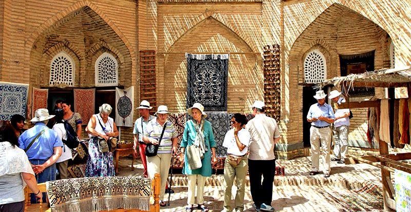 русские туристов стало больше в узбекистане