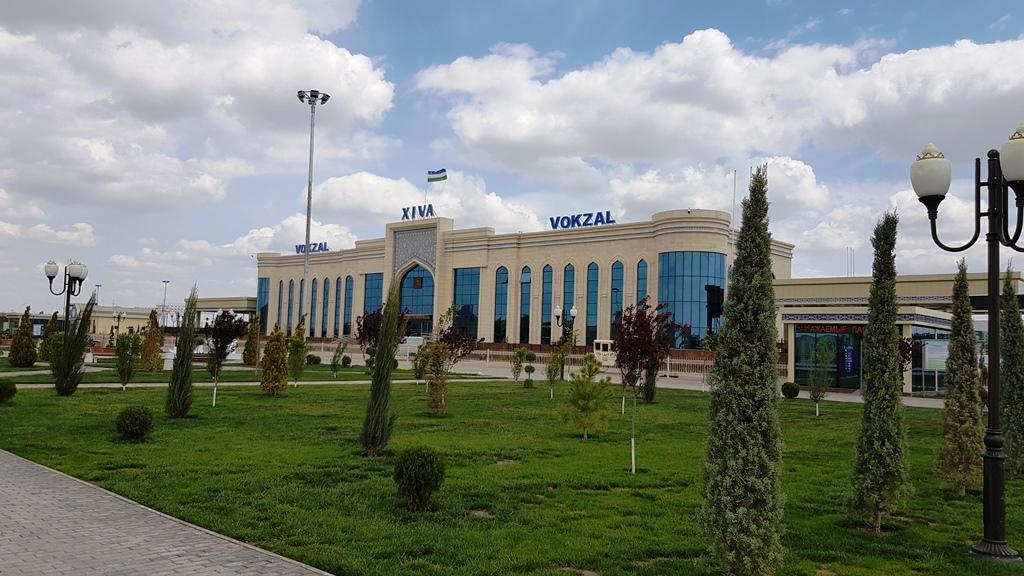 Khiva train station