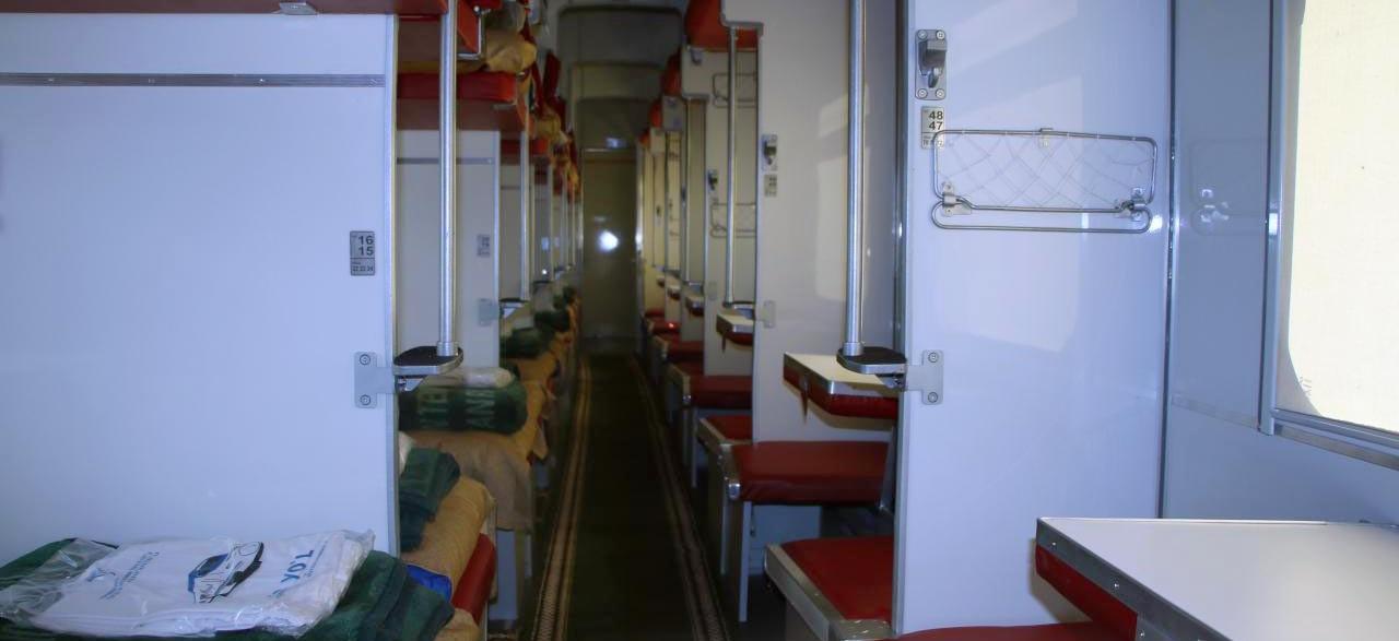Night Train, Uzbekistan. AnurTour