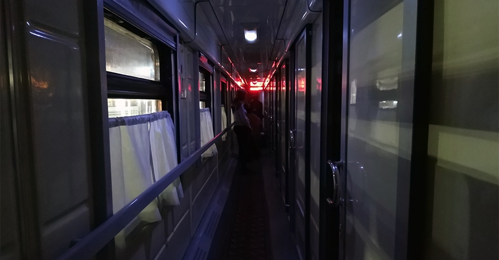 Night Train, Uzbekistan. AnurTour