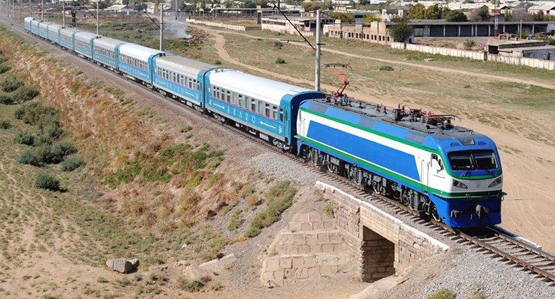 Shark Train, Uzbekistan. AnurTour