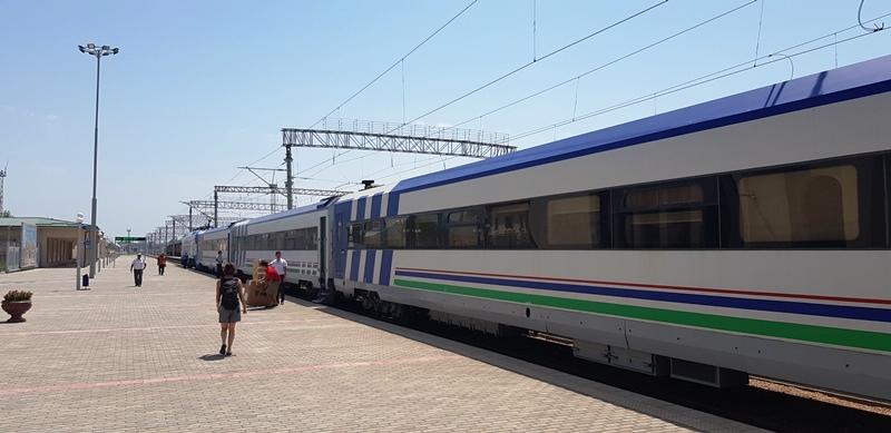 Khiva - Bukhara Train