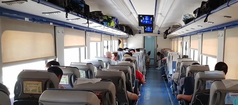 Bukhara - Khiva Train