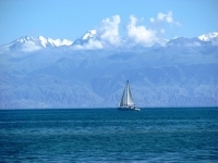 The Issyk Kul Lake