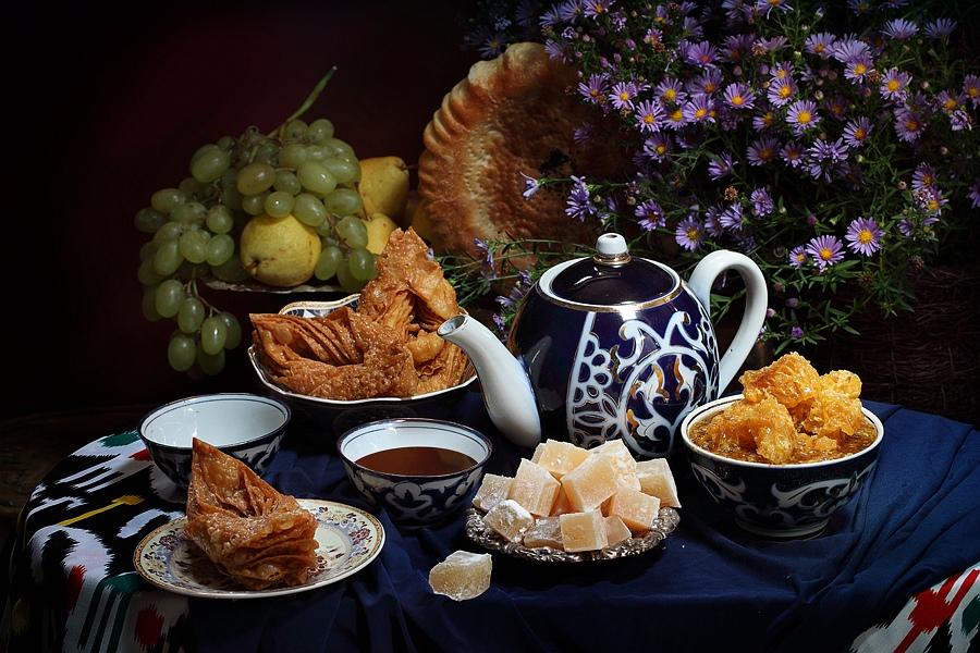 uzbek tea ceremony