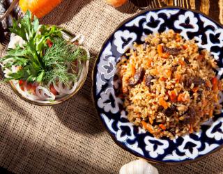 Recorrido gastronómico por Uzbekistán.