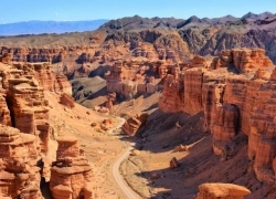 To Altyn Emel and Charyn Canyon