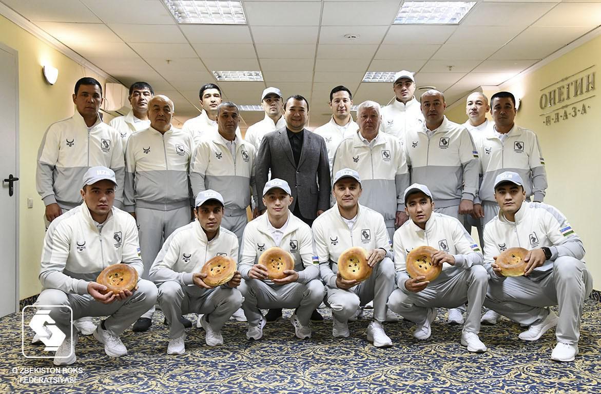 узбекская команда по боксу