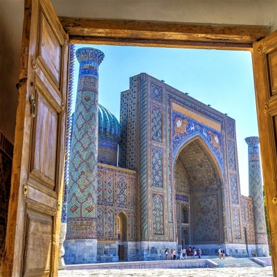 Day Tour to Samarkand from Tashkent by Afrosiyob train
