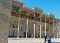 2 days to Bukhara from Tashkent