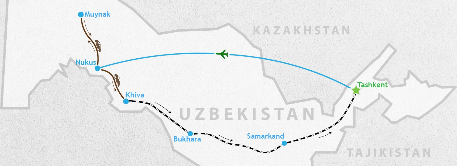 Uzbekistan 11 days tour