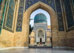 Bukhara & Samarkand by train