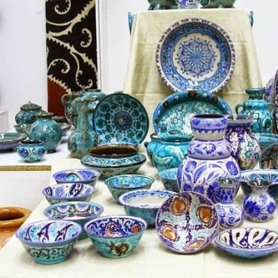 9 day ceramic tour to Uzbekitan