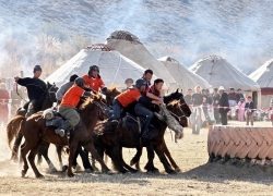 Horse-back riding Djailoo tour
